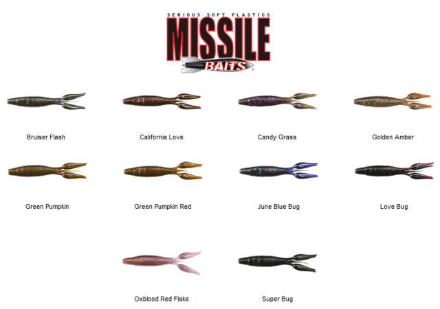 carta colors missile craw